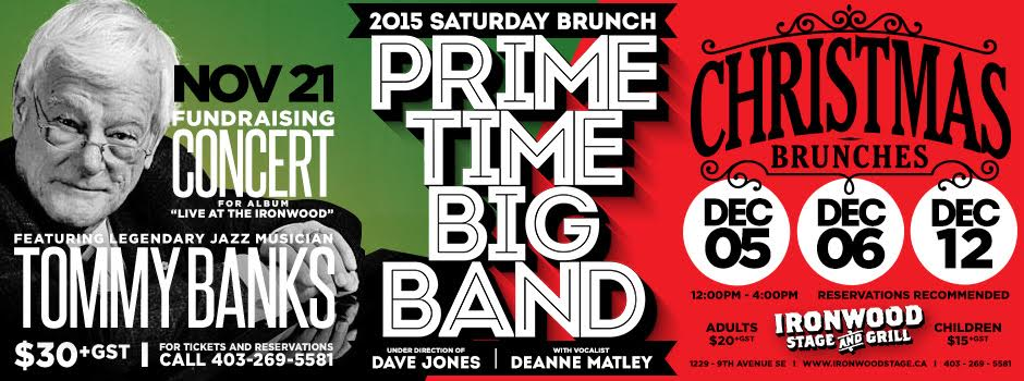 prime time big band cd fundraiser